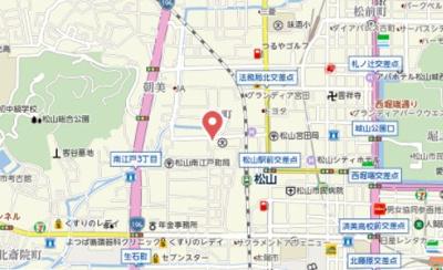 【地図】マリアージュ辻町