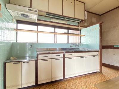 【キッチン】白銀売家