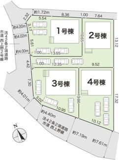 【区画図】香南市野市町西野