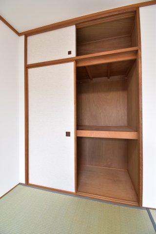全居室収納完備。無駄なくスペースを有効活用できます。