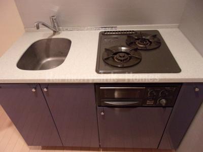 ガラ・ステージ南大塚のコンパクトなキッチンで掃除もラクラク