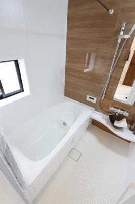 お風呂で日々の疲れを落としましょう:建物完成しました♪毎週末オープンハウス開催♪八潮新築ナビで検索♪
