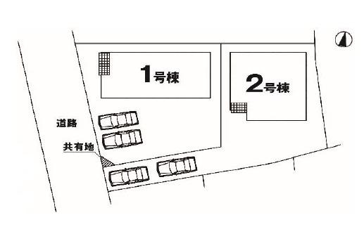 【区画図】高崎市新町 1号棟