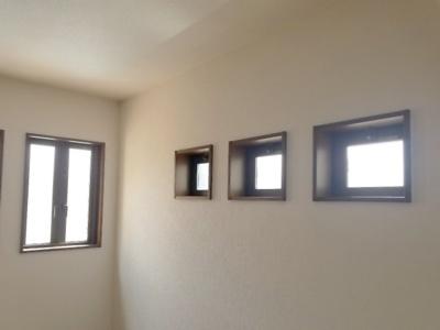 窓が沢山ございます
