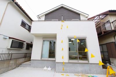 物件の外観です:建物完成しました♪毎週末オープンハウス開催♪八潮新築ナビで検索♪