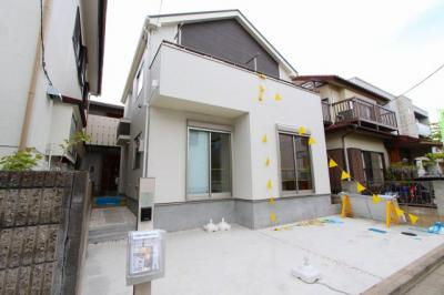 駐車場です:建物完成しました♪毎週末オープンハウス開催♪八潮新築ナビで検索♪