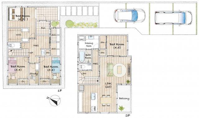 西岡本3丁目Ⅱ 2号地 新築戸建