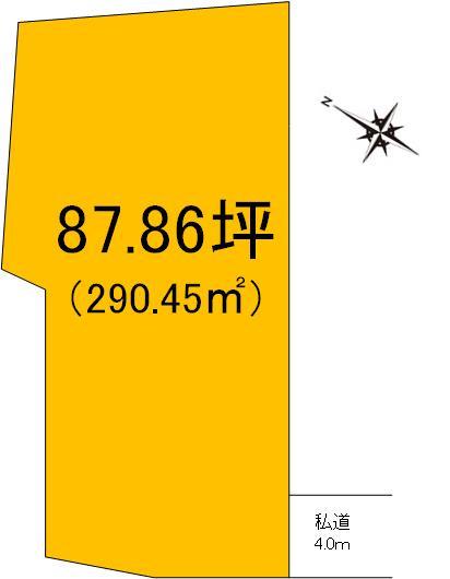 【土地図】見川3丁目土地【4区画】