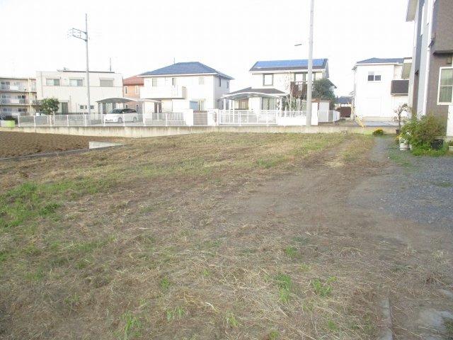 【前面道路含む現地写真】見川3丁目土地【4区画】