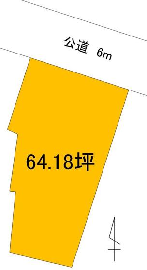 【土地図】大工町3丁目土地