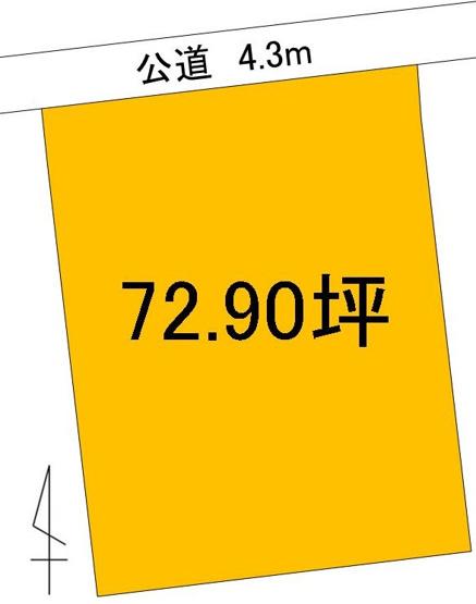 【土地図】ひたちなか市津田土地