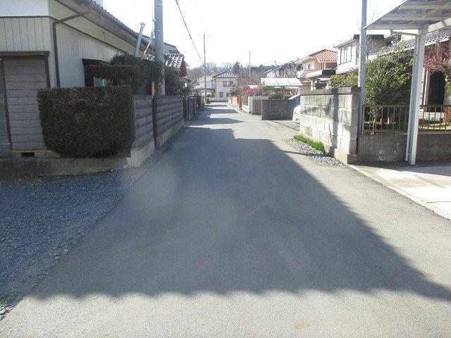 【前面道路含む現地写真】ひたちなか市津田土地