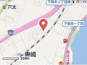 【地図】クレールテラダ