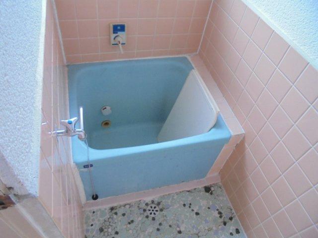 【浴室】ハイツ観音林