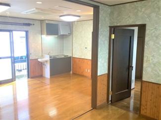 ■2階 約12帖 キッチンスペース付き <川口市弥平2丁目 中古戸建>