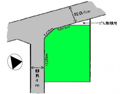【区画図】桶川市上日出谷 中古戸建