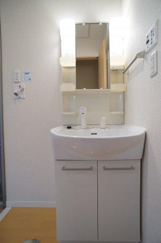 【独立洗面台】ルーピンクーハウス