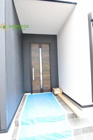 お洒落なデザインの玄関ドア☆