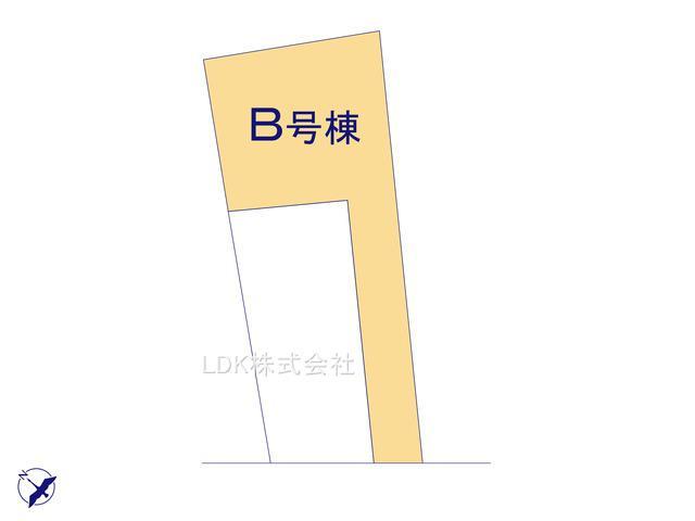 【区画図】新築戸建/富士見市東みずほ台3丁目(全2棟)