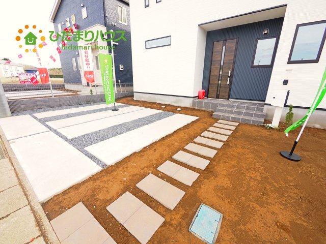 【駐車場】龍ヶ崎市長山3期 新築戸建 3号棟