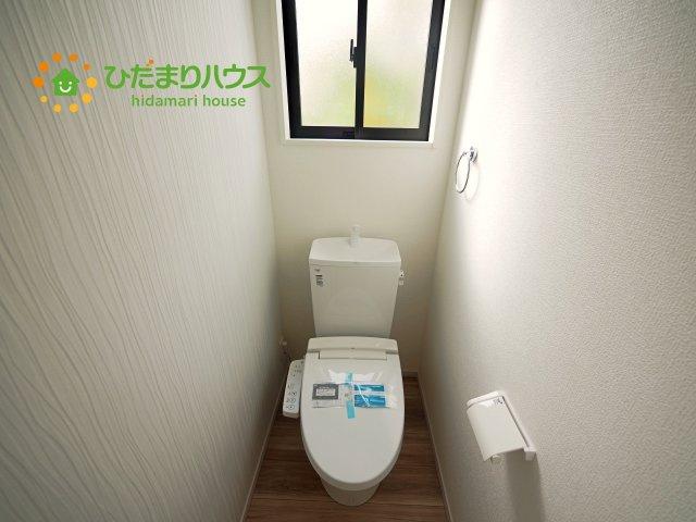 【トイレ】龍ヶ崎市長山3期 新築戸建 1号棟