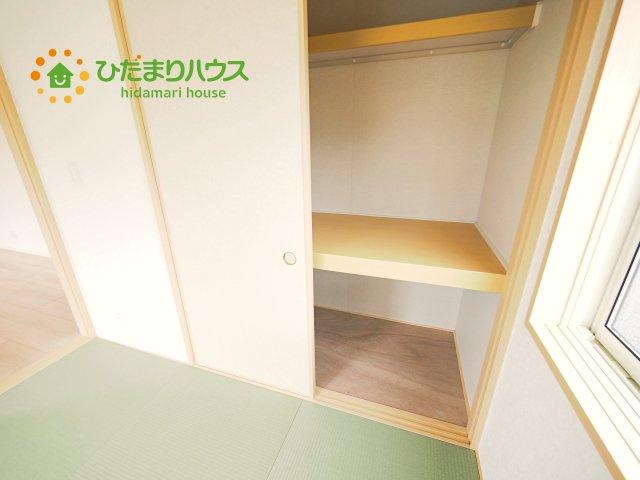 便利な中段付の和室収納