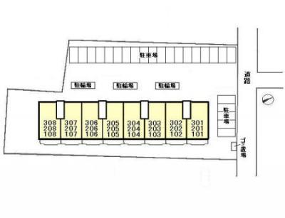 【区画図】第二パールメゾン染谷