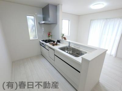 【キッチン】黒砂台1丁目・新築戸建(D棟)