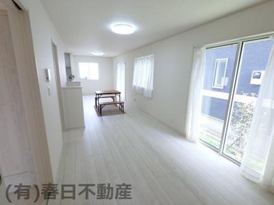 【居間・リビング】黒砂台1丁目・新築戸建(D棟)