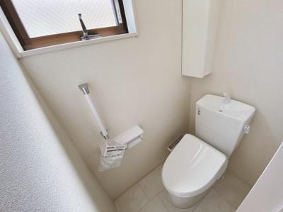 2か所にトイレがあります