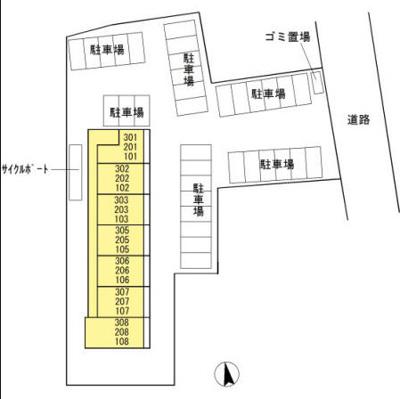 【区画図】グランドソレイユ荒尾