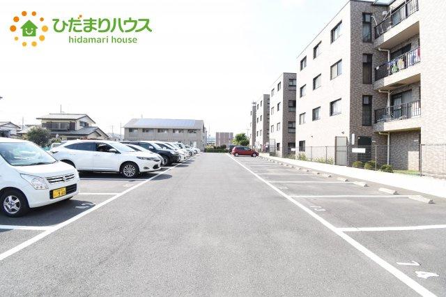 【駐車場】西区宝来 中古マンション タカラマンション指扇