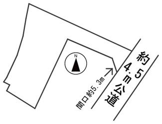 【区画図】56595 羽島郡笠松町字八幡町土地