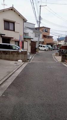 【前面道路含む現地写真】堺市中区新家町 中古戸建