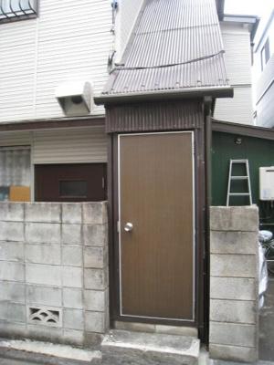 【玄関】江崎アパート