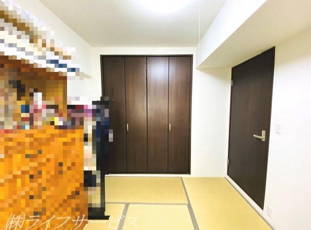 和室にはクローゼット有