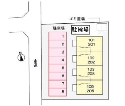 【区画図】ビオーラ エイト
