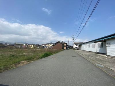 【前面道路含む現地写真】高島市安曇川町青柳 売土地