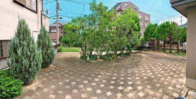 お庭でゆったりと過ごせます:吉川新築ナビで検索♪