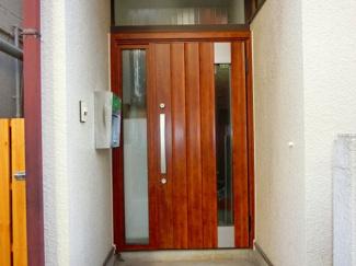【玄関】南常盤台アパート