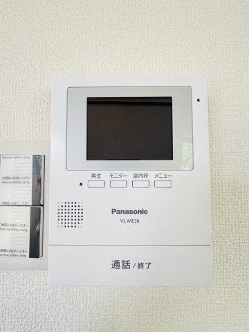 TVモニター付インターホン新設