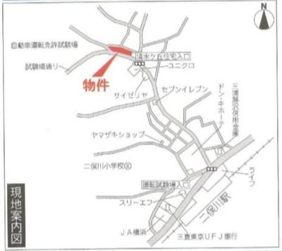 【地図】二俣川クリニックモール