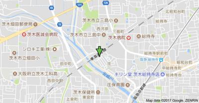 【地図】アンフィニィ庄Ⅰ