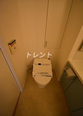 【トイレ】フレンシア麻布十番サウス