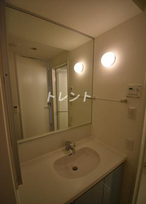 【洗面所】フレンシア麻布十番サウス
