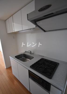 【キッチン】フレンシア麻布十番サウス