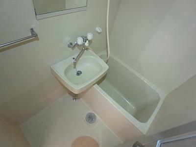 【浴室】コーポアスナロ