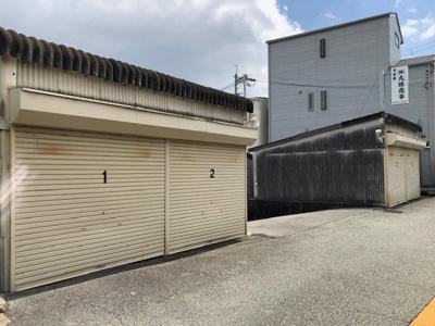 【外観】庄内栄町2丁目シャッター付きガレージ