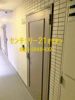 【玄関】藤和シティコープ練馬