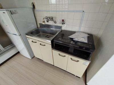 【キッチン】リバーサイド長田